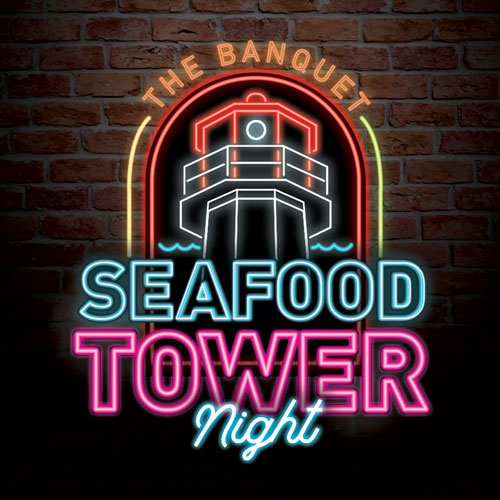 Seafood Tower Night